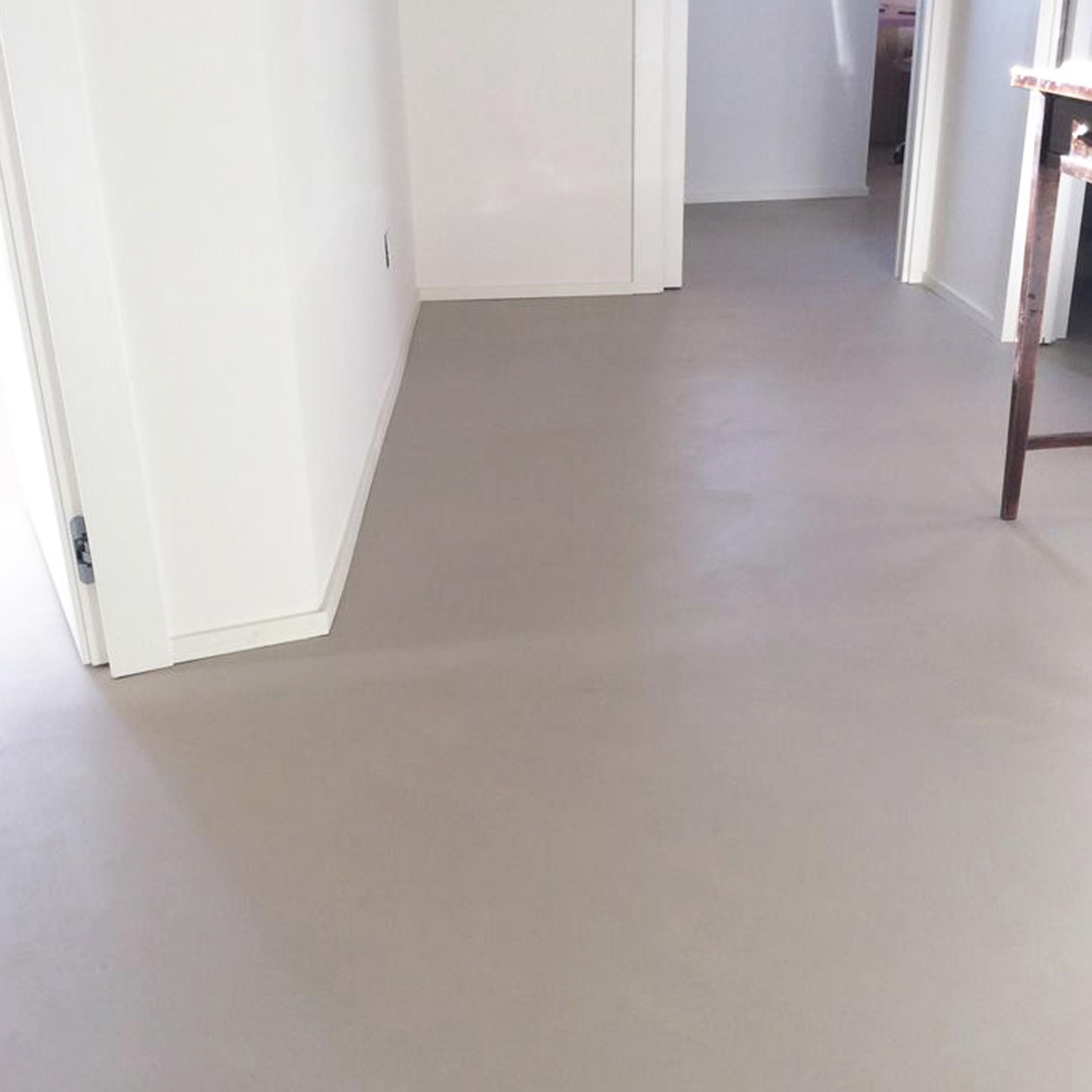 Pavimento in resina spatolata